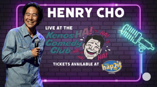 Henry Cho: August 27th & 28th