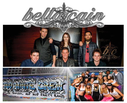 February 24th – Bella Cain w/ Too White Crew
