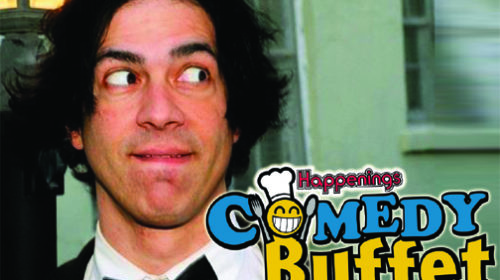 February 10th – Comedy Buffet With Joby Saab