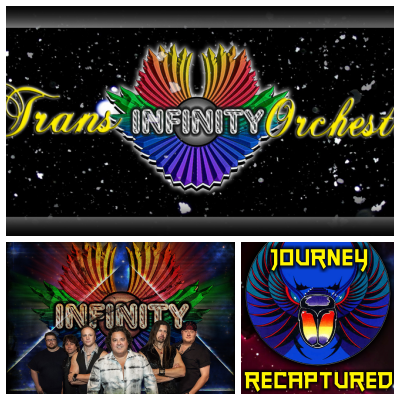 Dec. 21st – A Rock & Roll Christmas Journey – Journey Recaptured, Trans Infinity Orchestra, and Infinity!