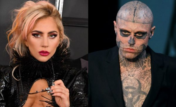 Lady Gaga mourns 'Born This Way' model Zombie Boy