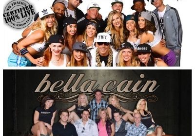 Feb. 16th – Too White Crew With Bella Cain at The Brat Stop!