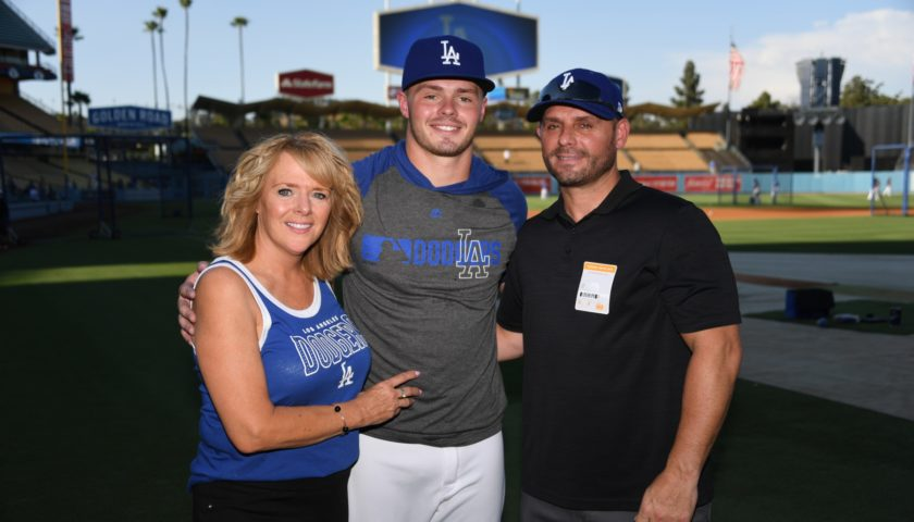 Kenosha-born MLB rookie Gavin Lux is taking it one swing at a time