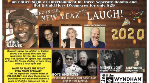 New Year's Eve Comedy & Music