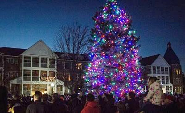 A Community Celebration: Annual Christmas Tree Lighting Nov. 29