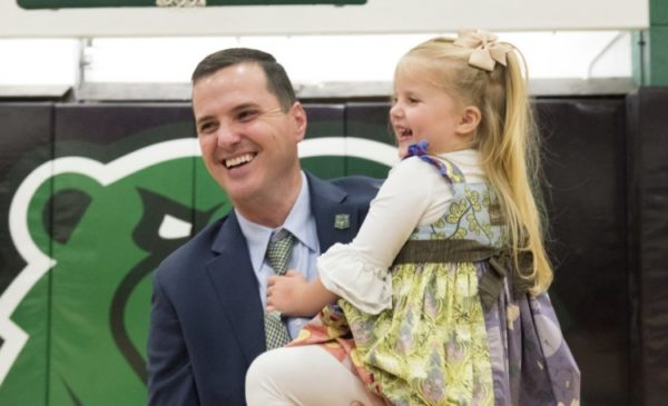 It's a Slam Dunk for Andrew Gavin as the UW-Parkside Athletics Director