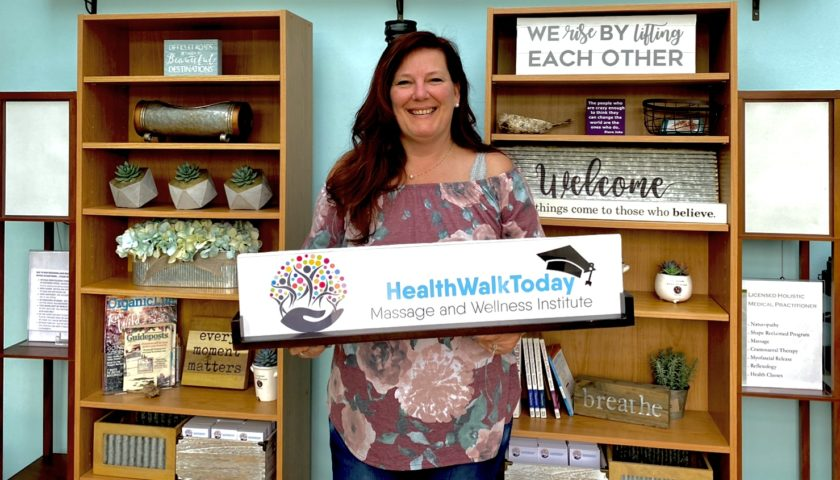 HealthWalkToday – Interested in Becoming a Massage Therapist?