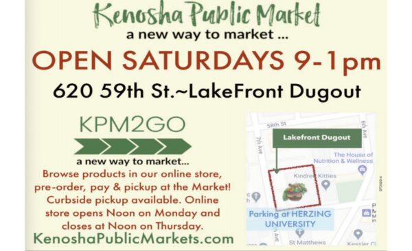 Kenosha Public Market – A new way to market continues!