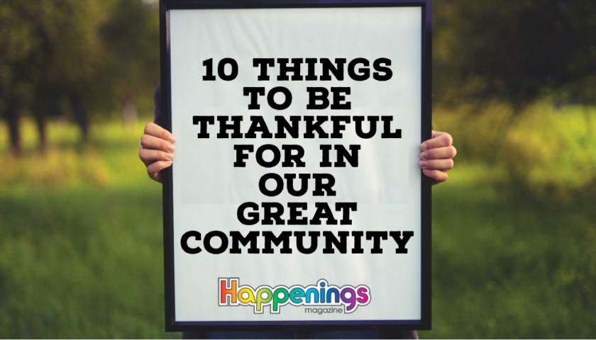 10 Things to be Thankful For in Kenosha