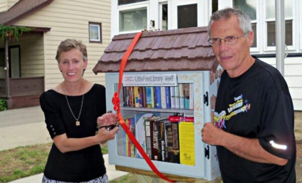 Take one or leave one at the Little Libraries
