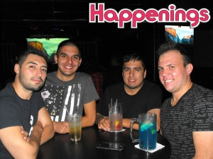 Victor, Antoni, Marcelino, & Shawn at Club Icon