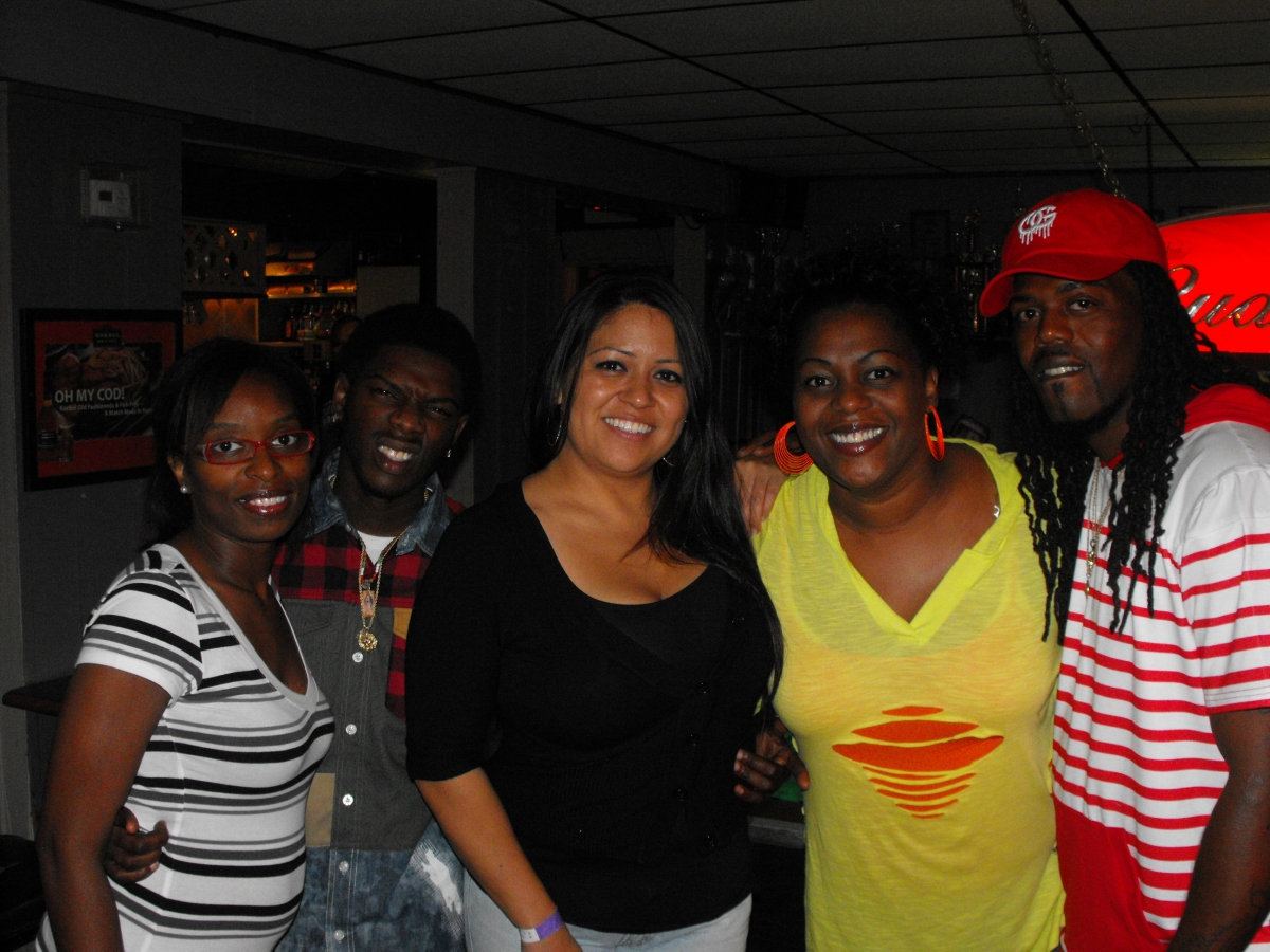 Sabrina, King, K.B., Lisa, & J.O. at Georges Club Highview