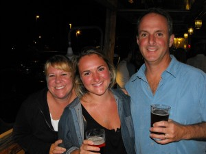 Sonja, Teil, & Kent at The Boathouse