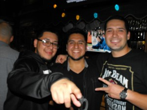 Nelo, Leo, & Sal at The Boathouse