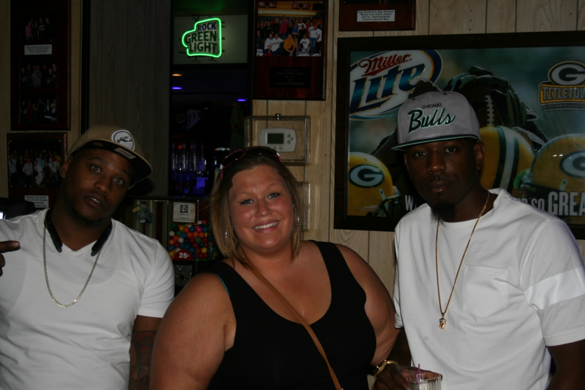 Davione, Tayall, & Caryn at The Brat Stop