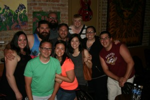 Carolyn, Deidra, Sarah, Stacie, Megan, Jeremi, Greg, Brit, Chris, & Lane at Fusion