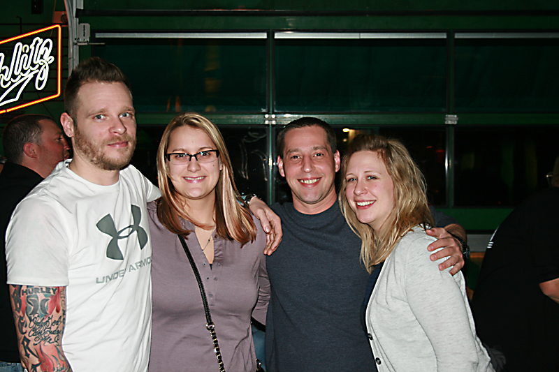 Robert, Jessica, Ashley, & Michael at Spanky's