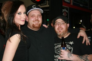 Ashleigh, Brandon, & Rob at Finney's