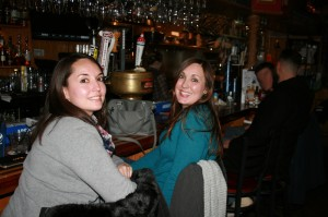 Juliana & Amy at Captain Mike's