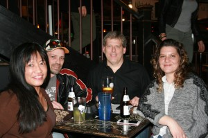 Dean, Steve, Mary, & Maria at Mike's Sports Book