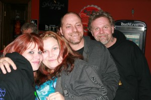 Kimberly, Johnny, Angel, & Ira at Jills Place