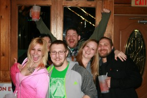 Chelsea, Alex, Brittany, Big Al, Maria, & Brian at The Boat House