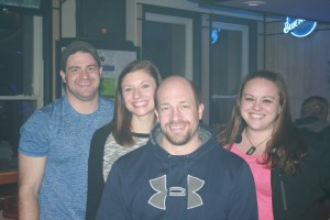 Matt, Katie, Casey, & Chelsie at Coins